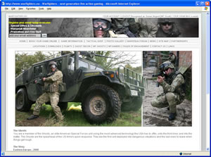 Visit the Warfighters website